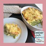 Ovenschotel met broccoli en pastinaak