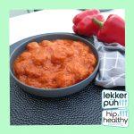 Balletjes in tomatengroentensaus